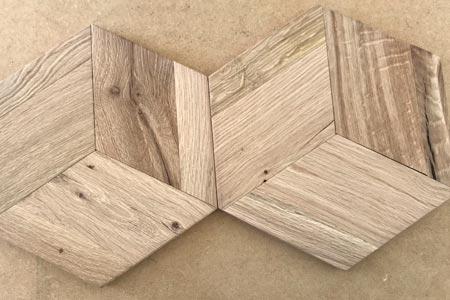Comprar parquet de madera en formas geometricas